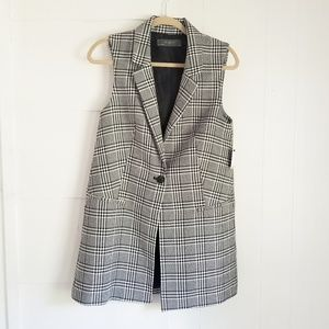 NWT The Limited Houndstooth Vest
